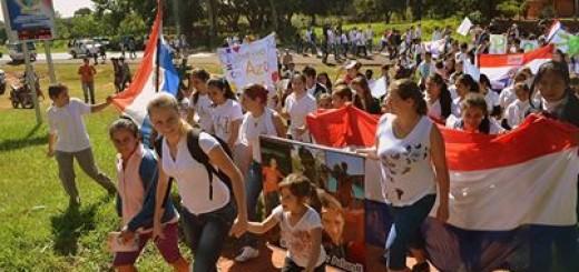 Marcha realizada en Azote´y