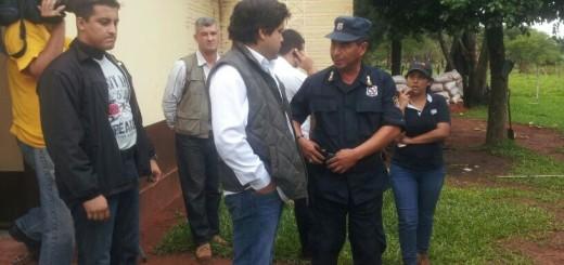 Gobernador llegaba a Paso Tuya.