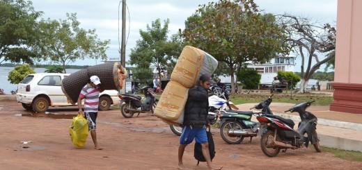 Pobladores de Chaco´i ya fueron evacuados casi en su totalidad.