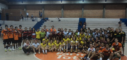 FOTO: Santaní en femenino y Hernandarias en masculino, los campeones