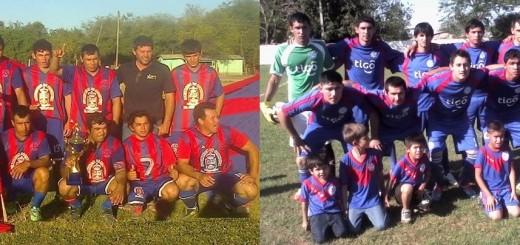 FOTO: 12 de Junio Bicampeón en Itacuá y 13 de Junio Campeón en Yby Yau