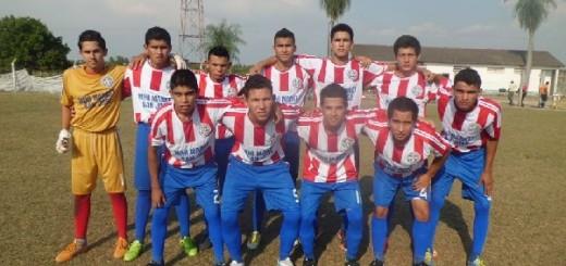 FOTO: Selección sub 19 de Vallemí, que empató jugando de local por la 3ra. fecha