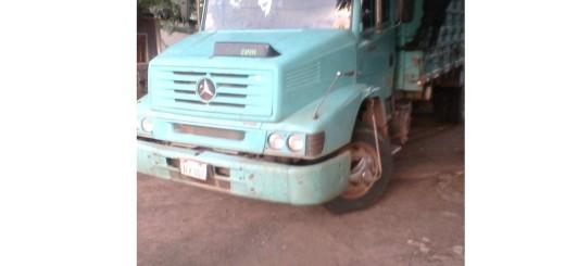 Este es el camión de quedó retenido. Foto:Gentileza, CIC.