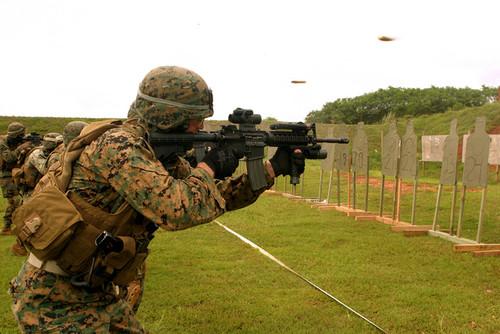 Investigación. Fusiles M4 similares a esta se esfumaron del poder de policías de la FTC.
