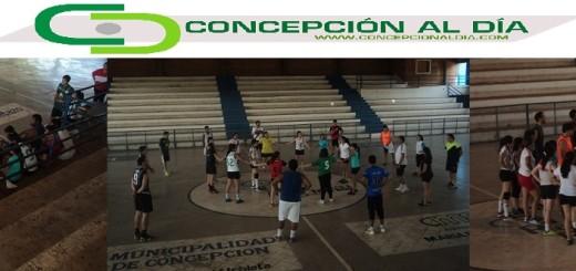 FOTO: Presentación del DT y primera práctica de Concepción en masculino y femenino