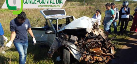 El vehículo de la victima.