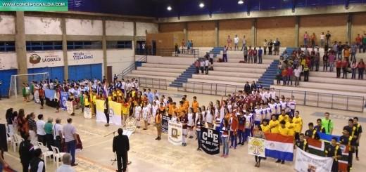 Inauguración de los Juegos Escolares Estudiantiles