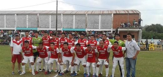 FOTO: Plantel del Sport Vallemí flamante campeón en la Liga Deportiva de Vallemí