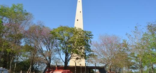 El monumento es un símbolo de la ciudad.