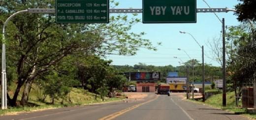 Ciudad de Yby Yaù/Foto Gentileza