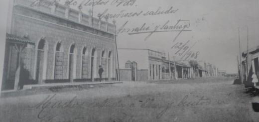 Es una foto de la época dorada de Concepción, según historiadores