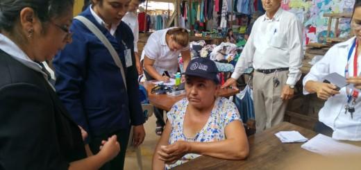 Con entusiasmo participaron los trabajadores del Mercado a la asistencia sanitaria