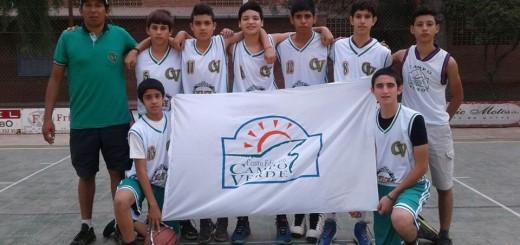 Colegio Campo Verde campeón Básquet (sub 14)