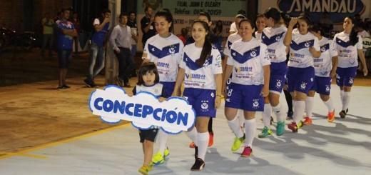 Desfile inaugural de Concepción