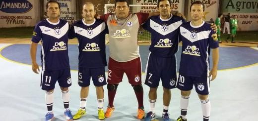Quinteto de Concepción (C40) que triunfó en la 2da. fecha