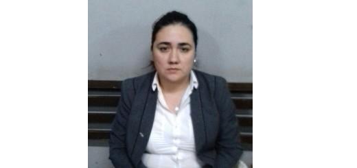 Veronica Genes Villamayor (32)/Detenida