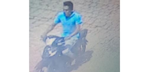 Las camaras del 911 lograron captar la imagen del presunto autor.