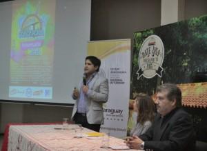 El gobernador del departamento de Concepción, Luis Urbieta, dando los detalles de las actividades prepuestas Fuente: IP Paraguay