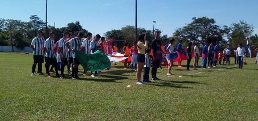 Actos inaugurales del torneo oficial (Liga Ybyyauense de Fútbol)