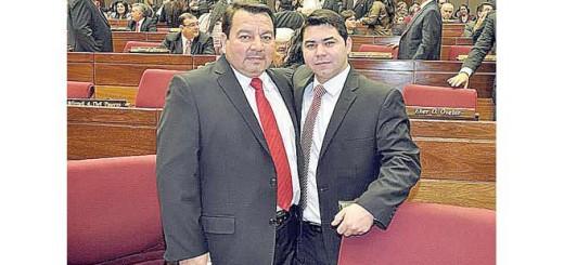 Bernardo Villalba y su hijo Berni Villalba