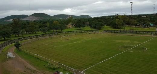Remozado estadio Héroes de la Patria (Vallemí)