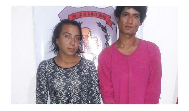 La pareja trató de fugarse, sin embargo fue detenida en medio de un enfrentamiento. Foto: Justiniano Riveros, UH.