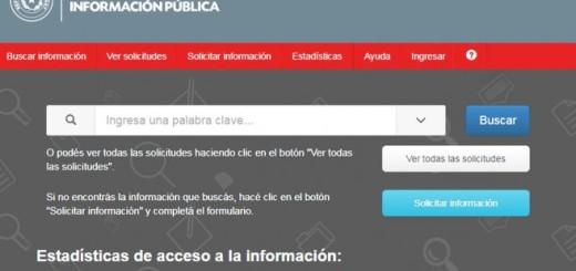 En la web. A través de este portal se puede solicitar información de los entes adheridos.