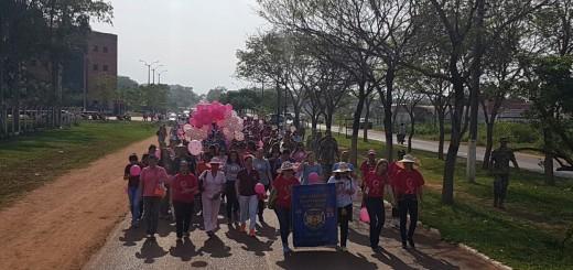Caminata octubre rosa