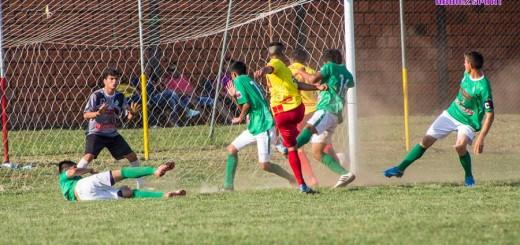 Pasaje del partido entre Horqueta - Belén  (mayores)