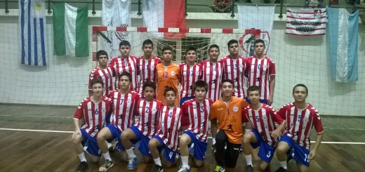 Plantel de Paraguay(handbol sub 14)