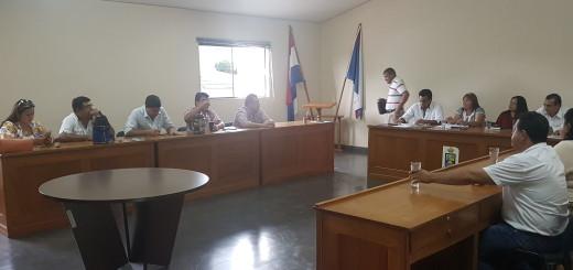 Sesión de la junta Departamental