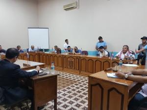 Sesión ordinaria de la junta municipal