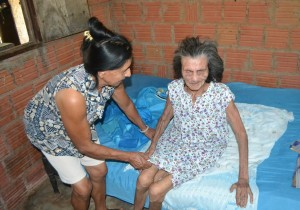 Esperanza. Doña Benicia Silva tuvo 7 hijos, 4 de ellos viven.