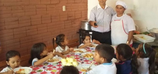 El almuerzo de los niños no es pagado por la Gobernación