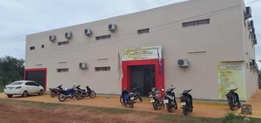 La casa de estudios de donde fue hurtada la moto