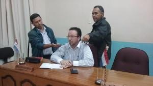 Concejal Gustavo Bonzi  (PLRA)