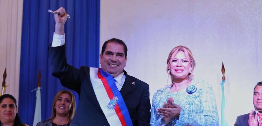 El nuevo gobernador de Concepción/ Foto Prensa Edgar Lopez