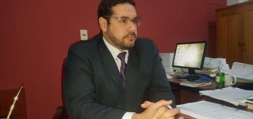 El fiscal Carlo Magno Alvarenga