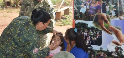 Las actividades beneficiaron a los hermanos indígenas/ Foto gentileza