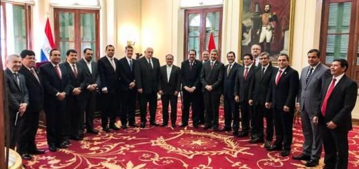 Edgar Lopez, gobernador de Concepción, participó de esta reunión