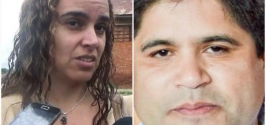 Fiscal Carolina Quevedo y Luis Urbieta