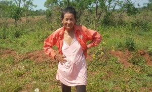 Esta humilde mujer perdió tres vacunos