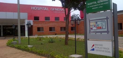 Hospital de Santa Rosa donde fue enviado la víctima
