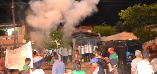 En alerta. Ciudadanos en pie de guerra En Concepción