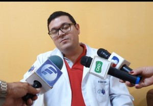 Serenidad y profesionalismo del Dr. Cristaldo en momento difícil