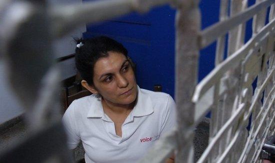 Carmen Villalba conocida epepista se encuentra recluida actualmente