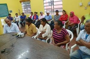 pobladores de Loreto desmienten atentado