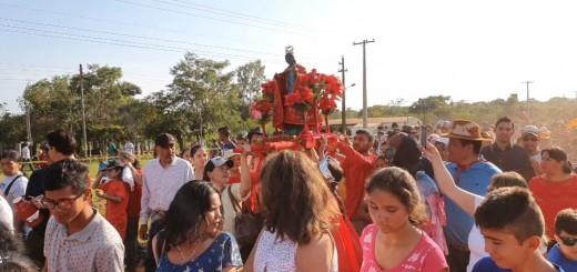 Multitud participó de la procesión