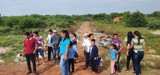 El intendente de Loreto, Rodolfo Insaurralde, aseguró que buscan solucionar el problema.
