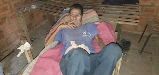 Don Alejandro Portillo necesita encontrar a su familia y recibir una atención integral.